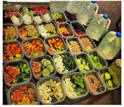 alafitness Hollywood personal trainer Los Angeles eating healthy meal prep plan water