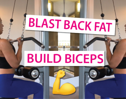 Back Workout + Biceps For Women | Extended Workout